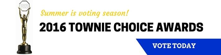 Vote for your favorite products during the 2015 Townie Choice Awards.