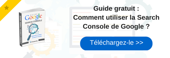 CTA Comment utiliser la Search Console de Google