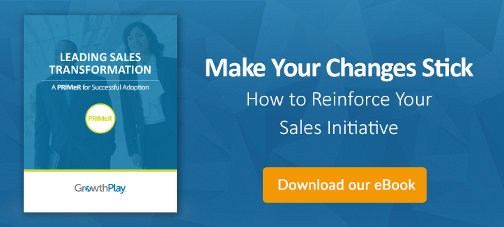 A Primer on successful sales transformation