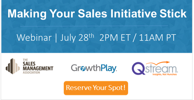 Join our webinar on sales training adoption July 28th