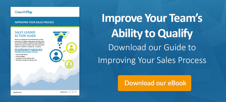 Sales Leader Action Guide: Improving your sales process