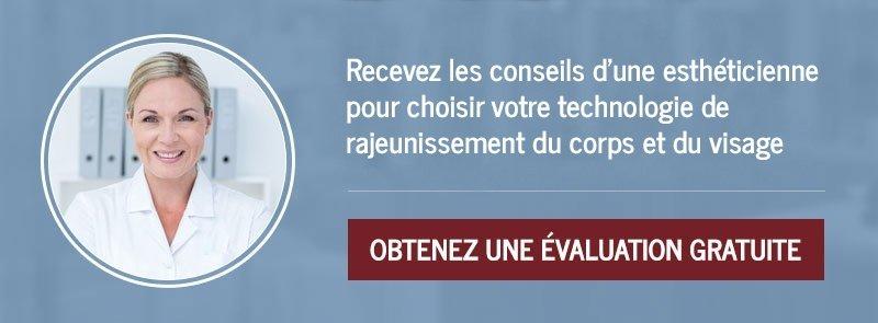 Demandez une consultation gratuite pour des soins en technologie de rajeunissement.