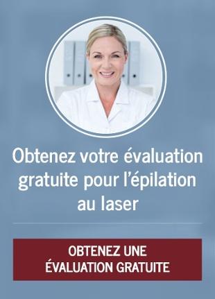 Évaluation pour l'épilation au laser