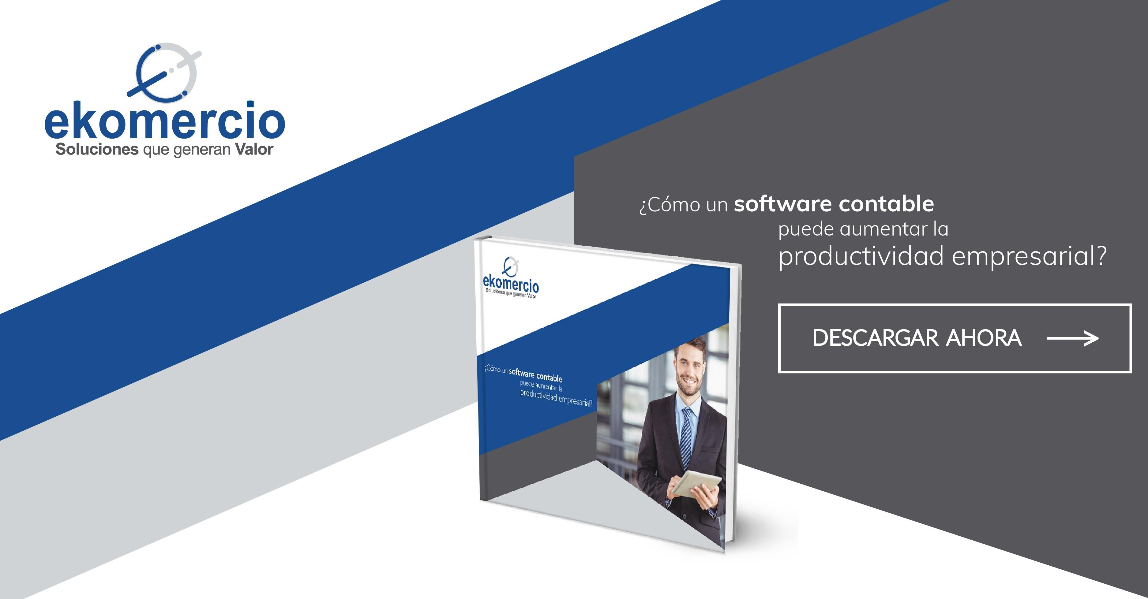 ¿Cómo un software contable puede aumentar la productividad empresarial?