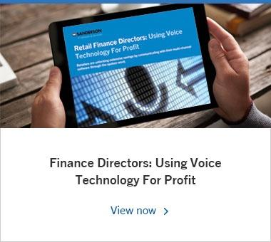 Finance Directors: Using Voice For Profit
