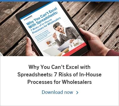 Why You Can't Excel with Spreadsheets: 7 Risks of In-House Processes for Wholesalers