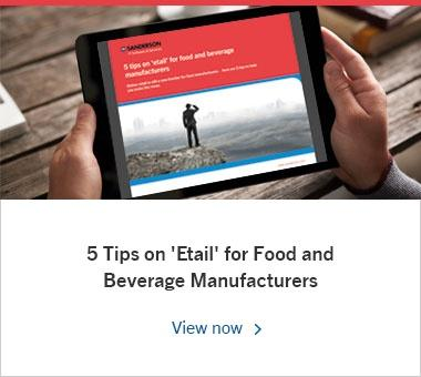 5 Tips on 'Etail' for Food and Beverage Manufacturers