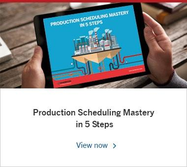 Production Scheduling Mastery in 5 Steps