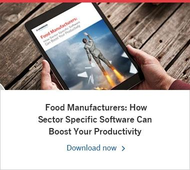 Food Manufacturers: How Sector Specific Software Can Boost Your Productivity