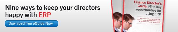 Nine ways to keep you directors happy with ERP