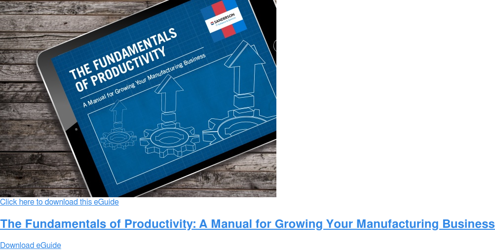 Click here to download this eGuide  The Fundamentals of Productivity Download eGuide