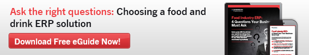 Ask the right questions: choosing a food and drink ERP solution