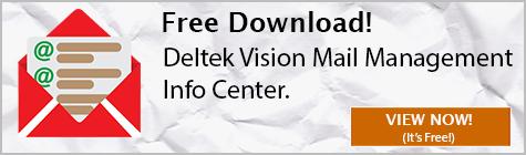 Deltek Vision UDIC: Mail Management Info Center