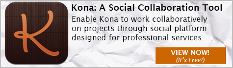 Deltek Kona, Social Collaboration