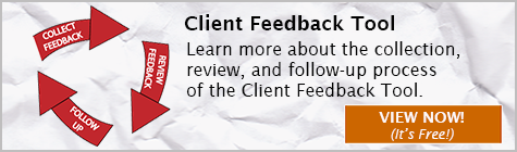 Client Feedback Tool, Client Feedback