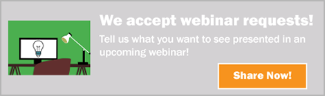 Request a webinar topic