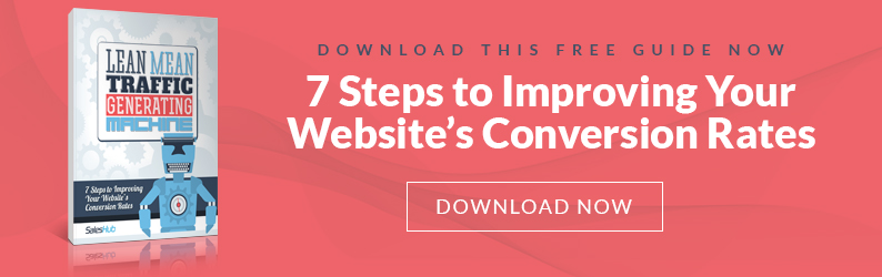 7 Steps to Improving Your Website's Conversion Rates