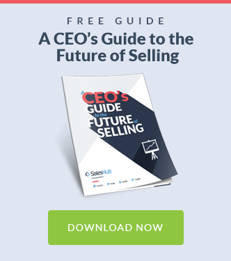 A CEO's Guide to the Future of Selling