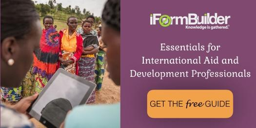 iFormBuilder E-Book for International Aid and Dev Professionals