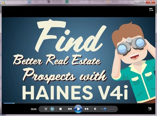 Haines V4i for Real Estate Agents
