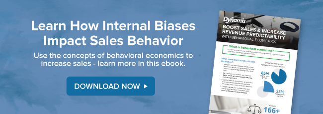Lear how internal biases impact sales behavior