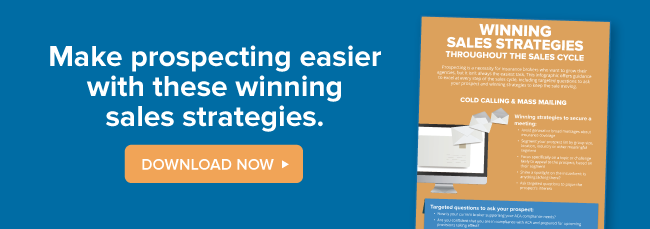 Make prospecting easier with these winning sales strategies!