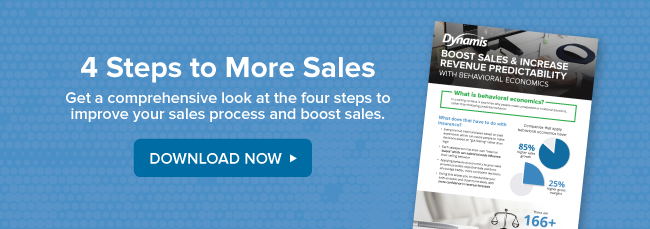 4 steps to more sales