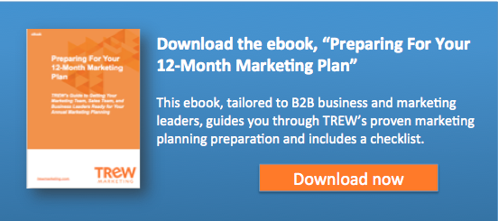 "Download the eBook: ""Preparing For Your 12-Month Marketing Plan"""