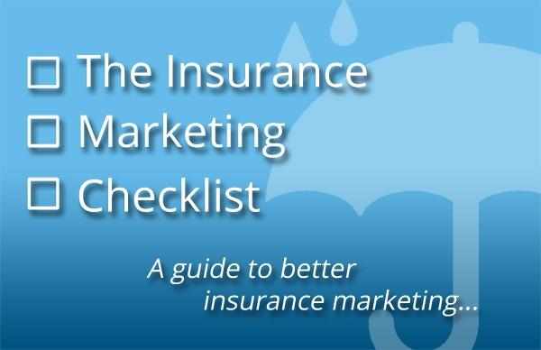 insurance marketing checklist download
