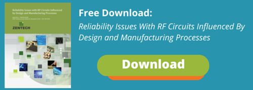 Reliability issues with RF Circuits