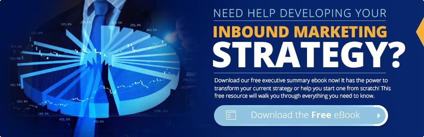Inbound Marketing Executive Summary ebook