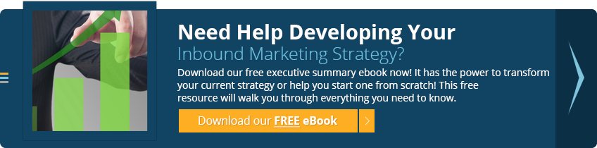 Inbound Marketing Executive Summary ebook