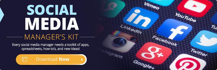 Social Media Managers Kit