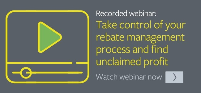 Take control of your rebate management process - find unclaimed profit