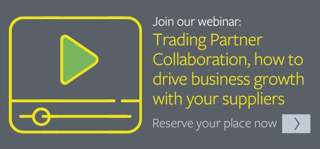 Trading Partner Collaboration, how to drive business growth with your suppliers