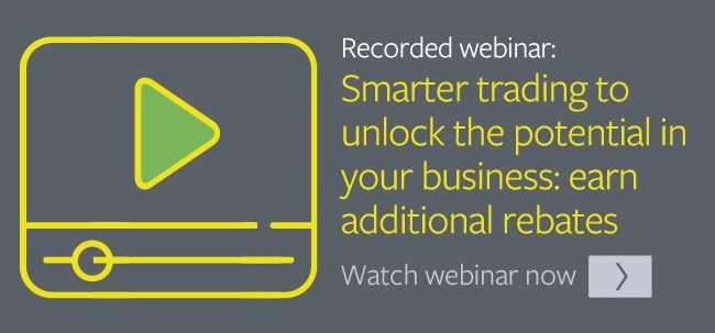 Smarter trading to unlock potential in your business, earn additional rebates