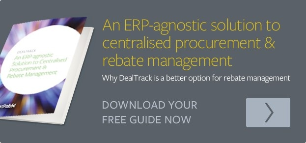 ERP Agnostic solution to centralised procurement and rebate management click to download