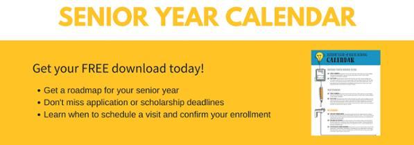 Free Senior Year Calendar
