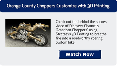 Orange County Choppers Customize with 3D Printing