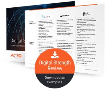 View an example Digital Strength Review PDF