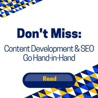 Read our blog post on how content development & seo go hand in hand.