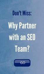 Why partner with an SEO team?