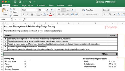 Download relationship survey