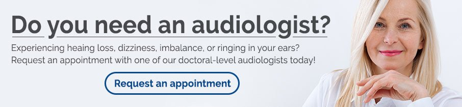 Request an audiologist appointment
