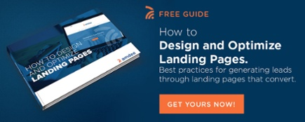 Free Guide on how to optimize your landing pages