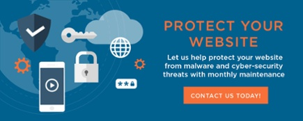 Let us help protect your website with monthly maintenance