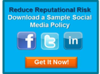 social media policy, reputational risk
