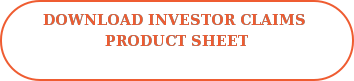 Download Investor Claims  Product Sheet