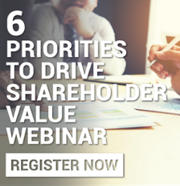 6 Priorities to Drive Shareholder Value Webinar