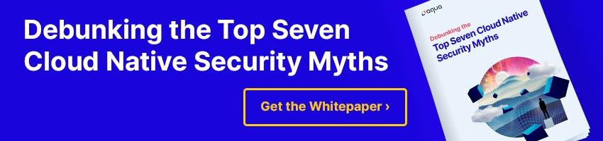 Debunking Top Seven Cloud Native Security Myths